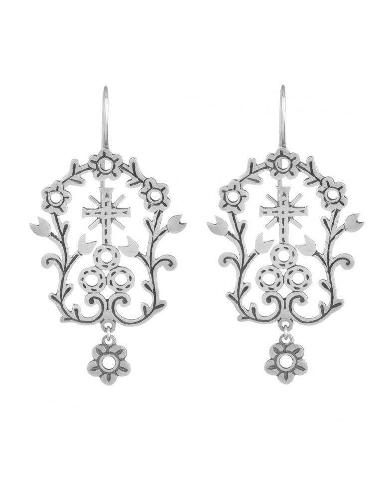Orecchini campagnoli argento