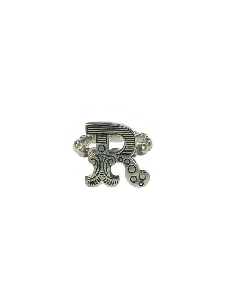 Anello iniziale carosello argento - R