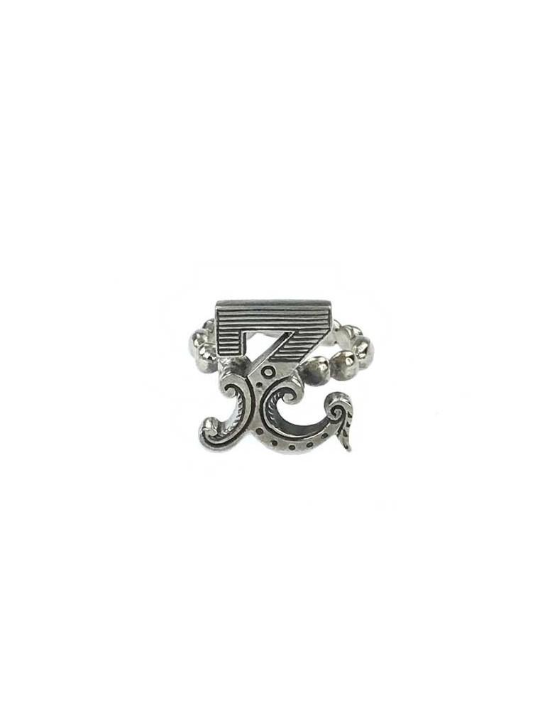 Anello iniziale carosello argento - Z