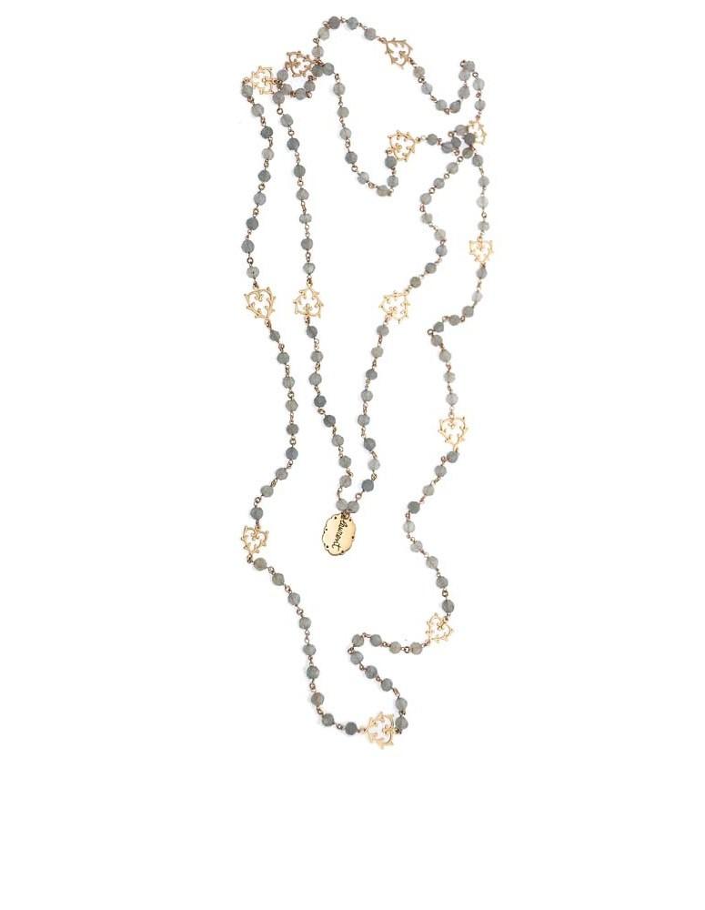 Collana rosario cuori